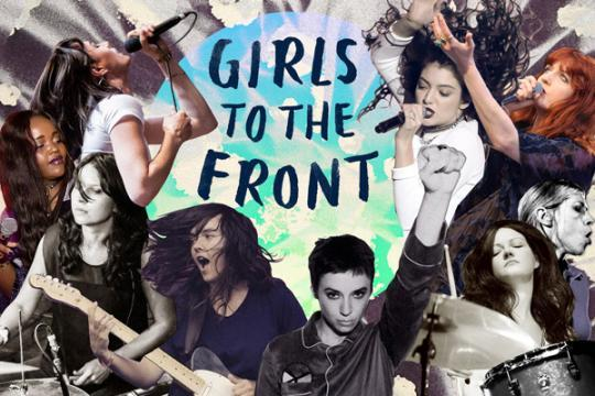 Girls to the front! International Women's Day on triple j Unearthed