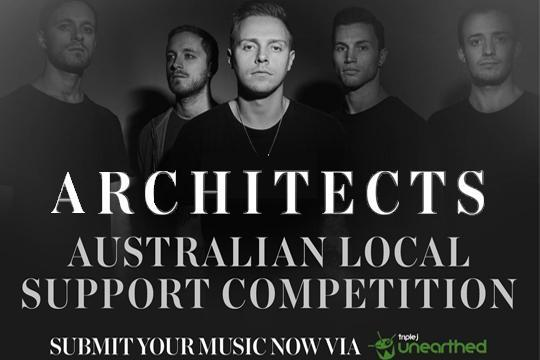 Meet the artists opening for ARCHITECTS on their Australian tour!
