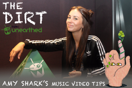 Amy Shark's music video tips