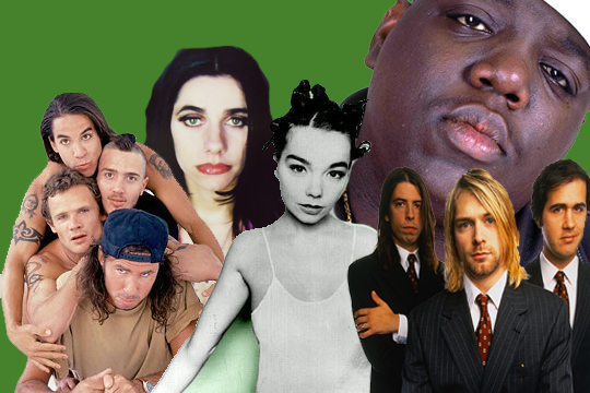 The Most Influential 90s Artists on triple j Unearthed