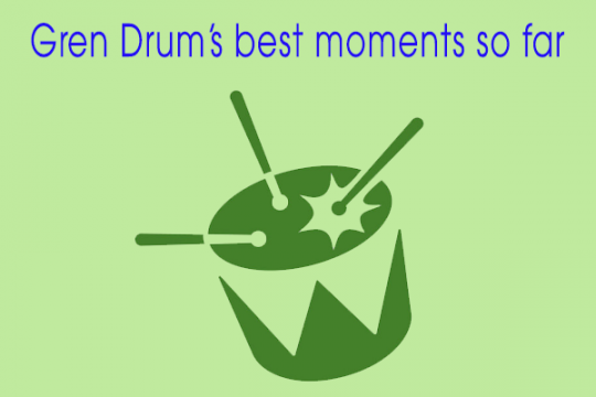 8 of Gren Drum's best moments so far