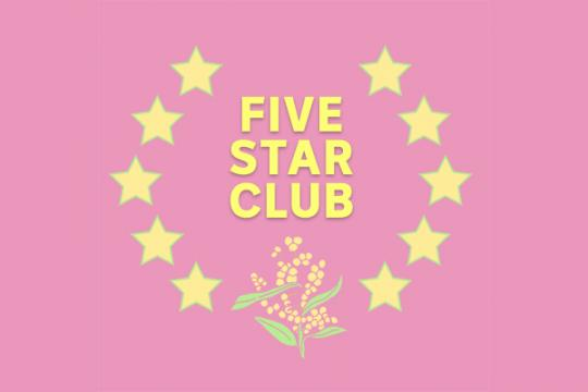 triple j Unearthed's Five Star Club
