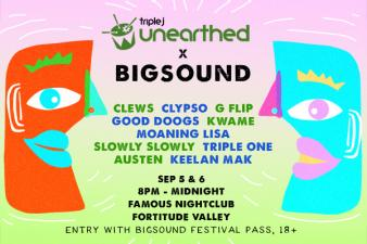 Unearthed BIGSOUND Showcase + Comp Winners!