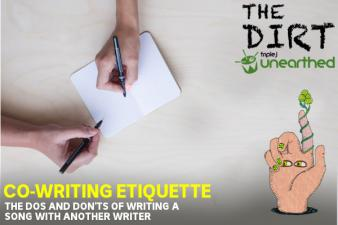 The Dirt: Co-writing etiquette