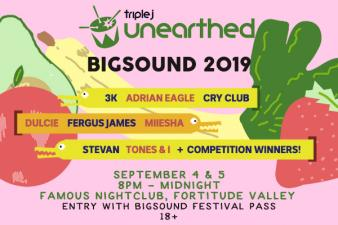 We're heading to BIGSOUND