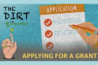 The Dirt: Applying for grants