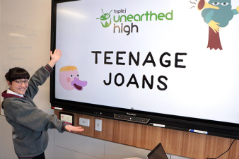 Teenage Joans win Unearthed High!