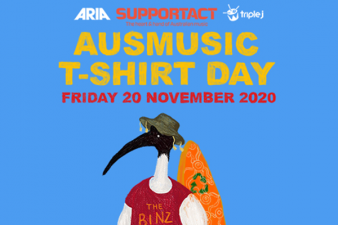 #AusmusicTShirtDay is returning this November