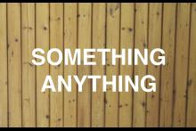 SOMETHING ANYTHING